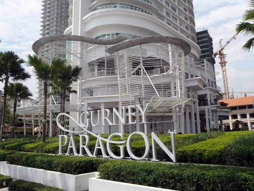 Gurney Paragon, Gurney Drive Penang