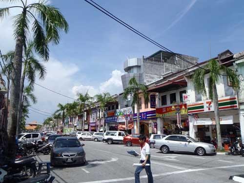 Lumut Town center