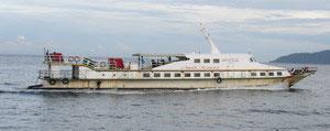 Mesra Ferry speedboat from Pangkor to Lumut