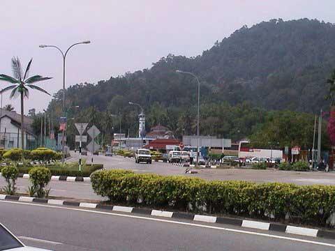 Lumut town