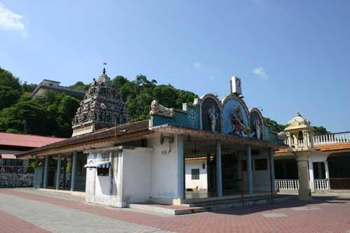Kaliaman Temple in Sungai Pinang Kecil