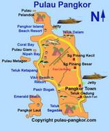 Pangkor Map