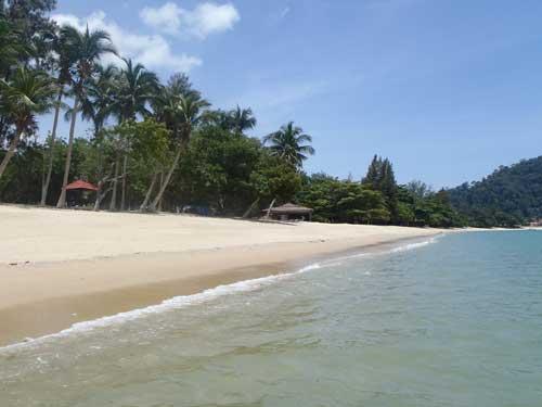 Pasir Bogak at Pulau Pangkor