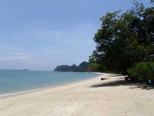 Pasir Bogak Pangkor island in Perak