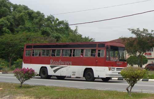 Perak Roadways bus