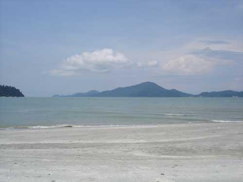 View to Pangkor