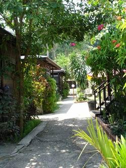 Nipah Bay Villa, the chalets